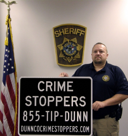 Crime Stoppers Road Signs