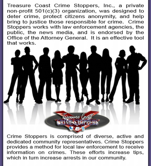 ABOUT CRIME STOPPERS