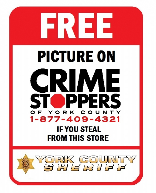 Click to Enlarge Crime Stoppers of York County
