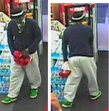 Click to Enlarge CVS Robbery Suspect