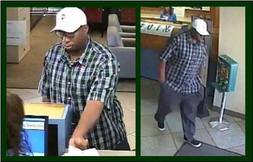 Click to Enlarge Compass Bank Robber, Blanding Blvd.