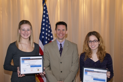 Scholarship Winners, January 2011