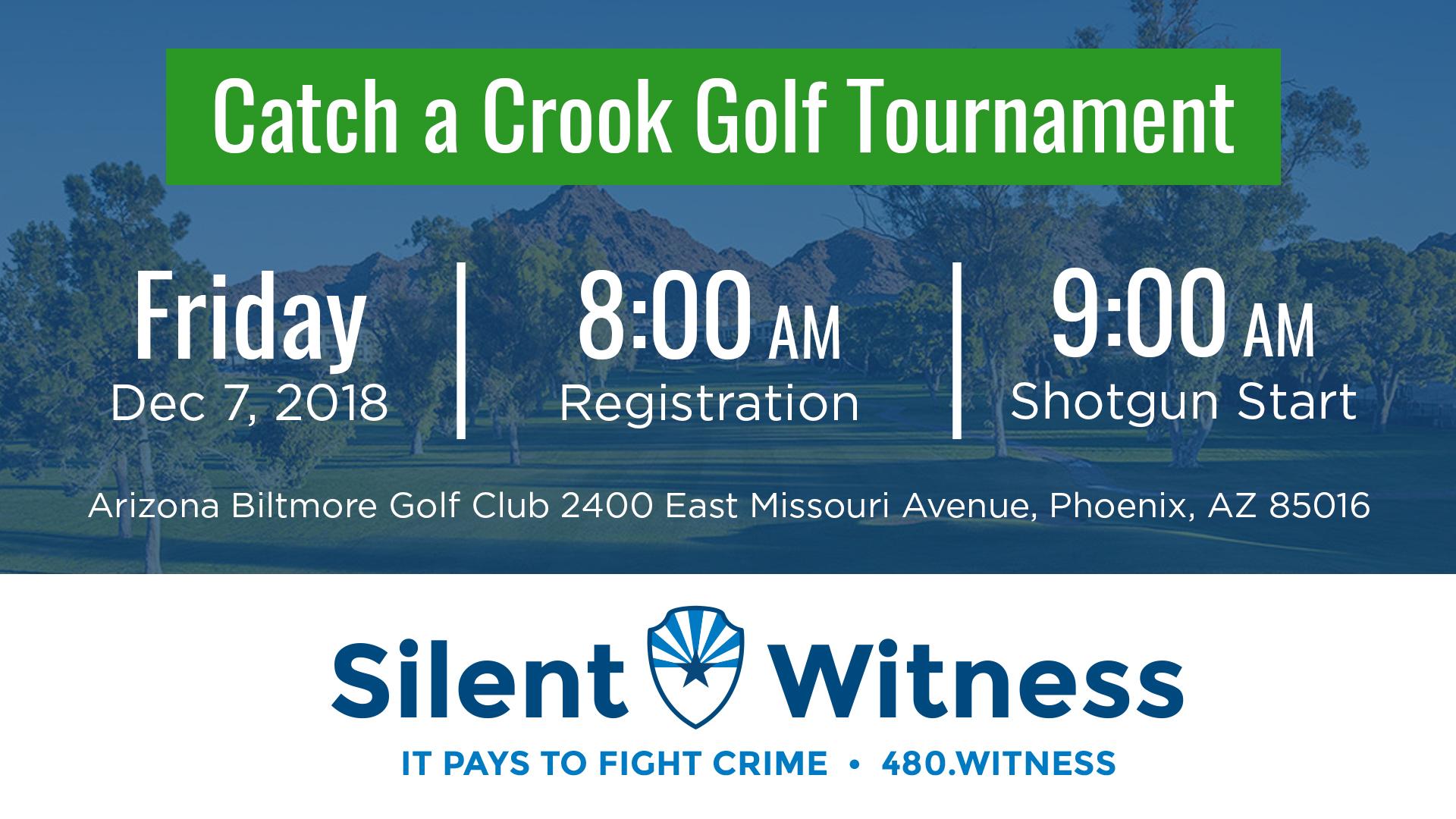 Catch a Crook Golf Tournament Info