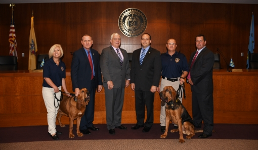 Crime Stoppers of Middlesex County Announces Adoption of County Canine Search and Rescue Team